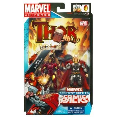Marvel Comic 2 Pack Thor Versus Iron Man