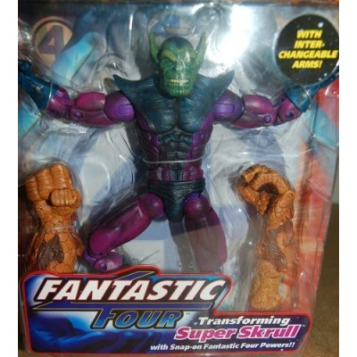 Marvel Fantastic Four Transforming Super Skrull Figure