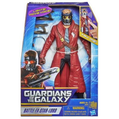 Marvel Guardians of The Galaxy Battle FX Star-Lord Figure, 12""
