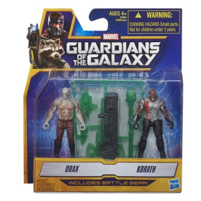 Marvel Guardians of The Galaxy Drax and Korath Figure (2-Pack)