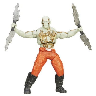 Marvel Guardians of the Galaxy Galactic Battlers Drax Figure