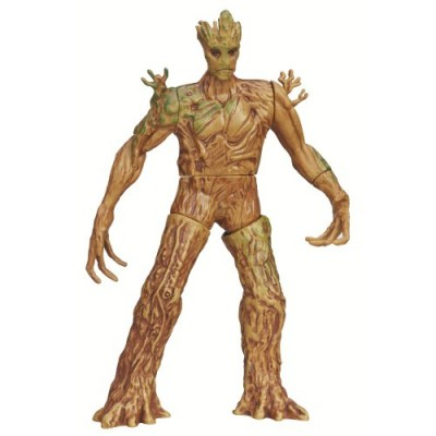 Marvel Guardians of The Galaxy Galactic Battlers Groot Figure