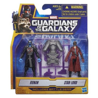 Marvel Guardians of The Galaxy Star-Lord and Ronan Figure (2-Pack)