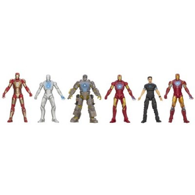 Marvel Iron Man 3 Marvel Hall of Armor Collection Action Figure