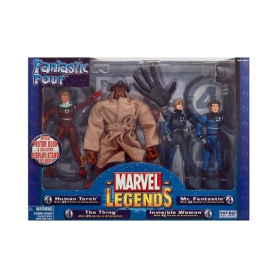 Marvel Legends Boxed Sets Fantastic Four 4-Piece Exclusive Action Figure Boxed Set