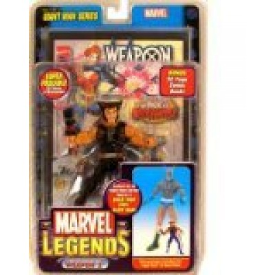 Marvel Legends Giant Man Series Weapon X Action Figure with Giant Man Builder Piece