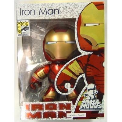 Marvel Mighty Muggs Metallic Iron Man SDCC 2008