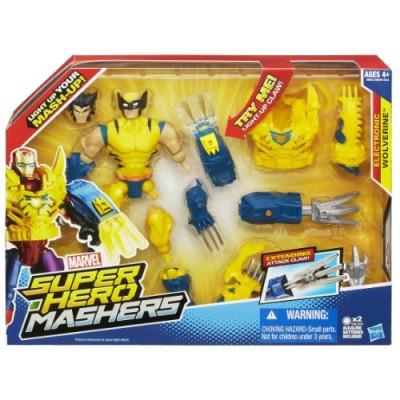 Marvel Super Hero Mashers Electronic Wolverine Figure