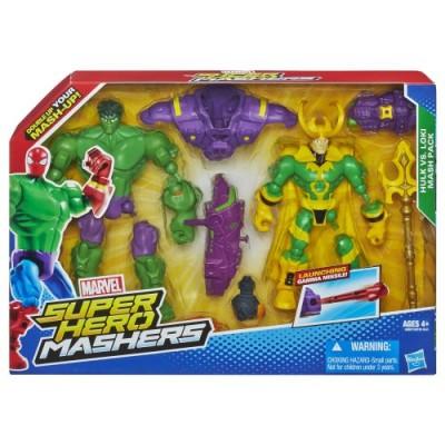 Marvel Super Hero Mashers Hulk vs. Loki Mash Pack