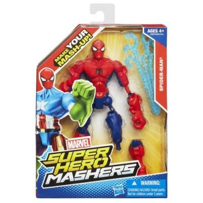 Marvel Super Hero Mashers Spider-Man Figure 6 Inches
