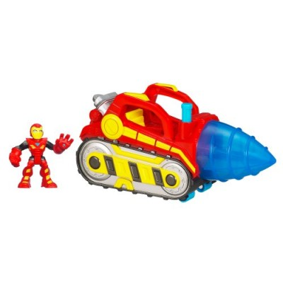 Marvel Super Hero Repulsor Drill with Iron Man (Colors may Vary)