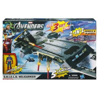 Marvel The Avengers Movie Series S.H.I.E.L.D. Helicarrier Playset