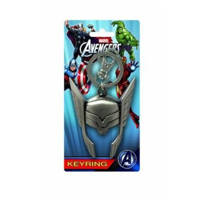 Marvel Thor Helmet Pewter Key Ring
