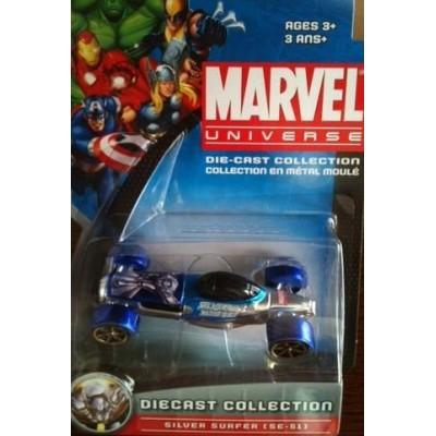 SILVER SURFER [SE-51] Marvel Universe Die-Cast Collection (Fantastic Four)