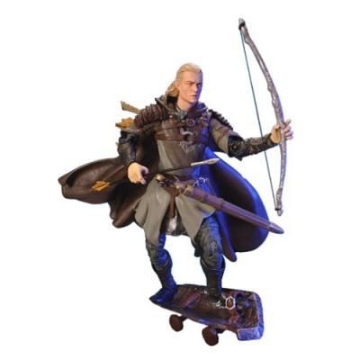 """The Lord of the Rings - The Two Towers: Helm's Deep Legolas 6"""" Action Figure (Series #4)"""