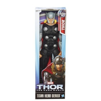 Thor Marvel The Dark World Titan Hero Series Action Figure, 12-Inch