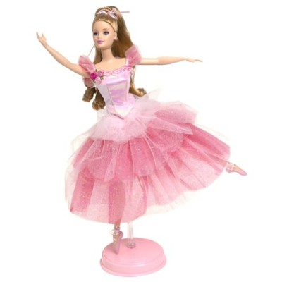 2000 Flower Ballerina Barbie Doll from The Nutcracker by Mattel