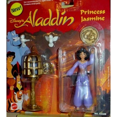 Aladdin Princess Jasmine (in Purple outfit) Figure