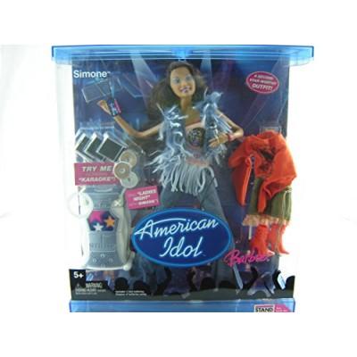American Idol Barbie Simone