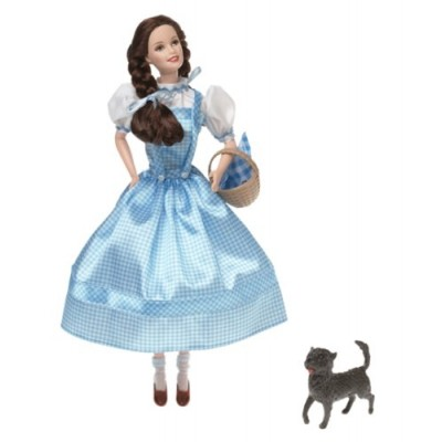 Barbie as Dorothy The Wizard of Oz 1999 Talking Collector Doll! Ruby slippers light up. Dorothy Talks. Made by Mattel. Item Number: 25812