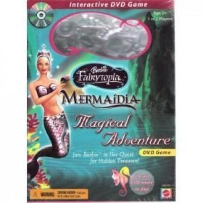 Barbie Fairytopia Mermaidia Magical Adventure DVD Game