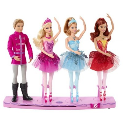 Barbie in the Pink Shoes Dancing Stage 4 Dolls Land Of Sweets