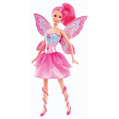 Barbie Mariposa and The Fairy Princess Friends Doll, Pink