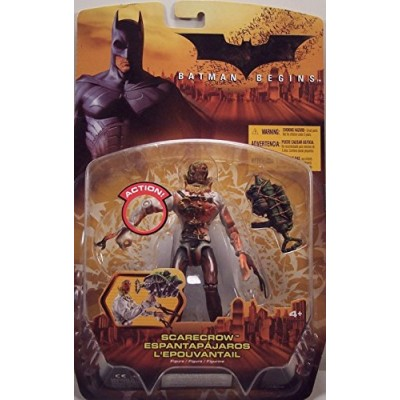 Batman Begins Movie, Scarecrow Action Figure [Clean Version]
