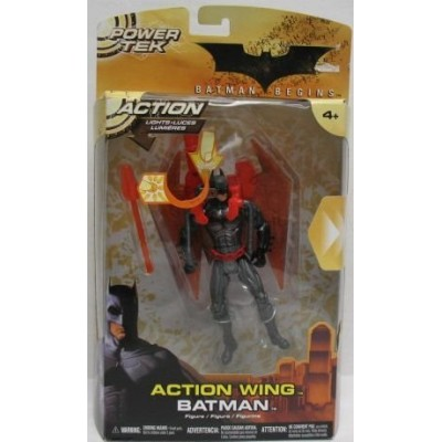 Batman Begins Power Tek Action Wing Batman Action Figure