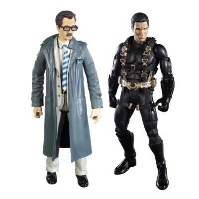 Batman Legacy Batman Begins Prototype Suit Batman And Lt. Jim Gordon Collector Figure 2-Pack