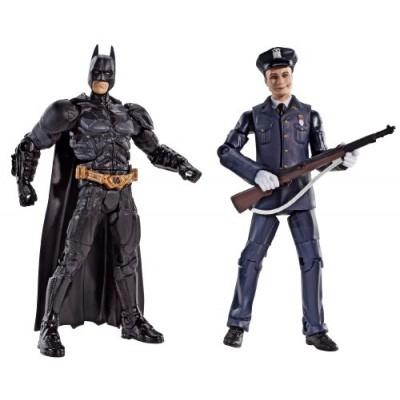Batman Legacy The Dark Knight Batman And Police Honor Guard Joker Collector Figure 2-Pack
