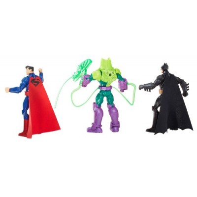 DC Comics Total Heroes Battle in a Box Figure (3-Pack)