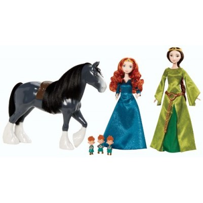 Disney Brave Merida's Family Gift Set