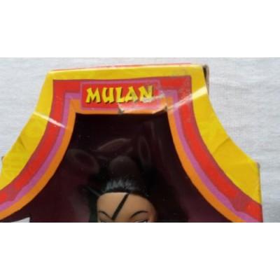 Disney MULAN doll in red fashion by Mattel 1997