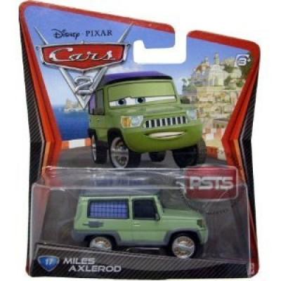 Disney / Pixar CARS 2 Movie 155 Die Cast Car #17 Miles Axlerod by Mattel