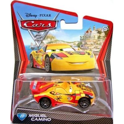 Disney / Pixar CARS 2 Movie 155 Die Cast Car #23 Miguel Camino by Mattel