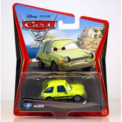 Disney/Pixar Cars 2 Movie Acer #12 1:55 Scale