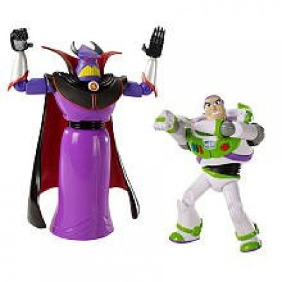 Disney / Pixar Toy Story 3 Exclusive Movie Moments 6 Inch Action Figure 2Pack Zurg Buzz Lightyear