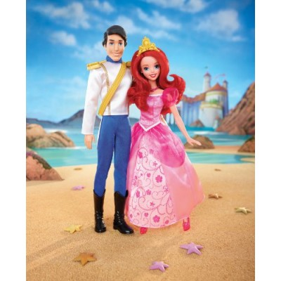 Disney Princess Ariel and Eric Day Out Dolls