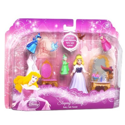 Disney Princess Favorite Moments Fairytale Scenes Sleeping Beauty Playset