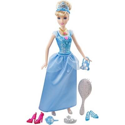 Disney Princess Sparkle Princess Cinderella Doll and Accessories
