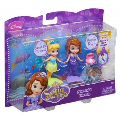 "Disney Sofia The First 3"" Sofia and Oona The Mermaid Doll"