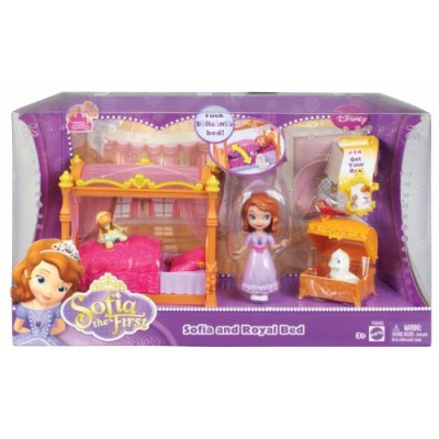 Disney Sofia The First Royal Bed Playset