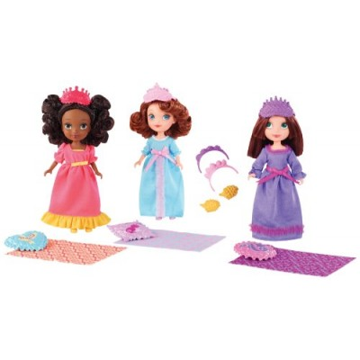Disney Sofia The First Royal Sleepover Doll 3-Pack