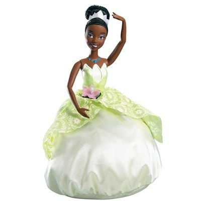 Disney The Princess and the Frog Transforming Princess-to-Frog Tiana Doll
