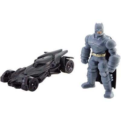 Hot Wheels Batman v Superman: Dawn of Justice Armored Batman Mini & Batmobile