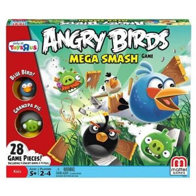 Mattel Angry Birds Exclusive Board Game Mega Smash