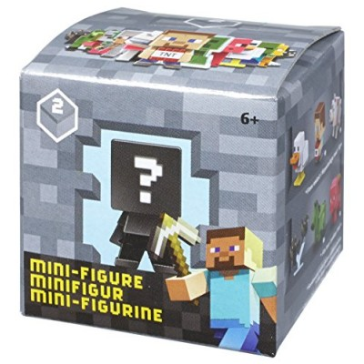 Minecraft Collectible Figure Mystery Blind Box (Styles May Vary)