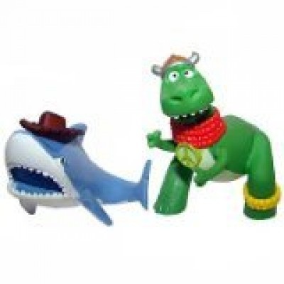 Toy Story Color Splash Buddies Rex and Shark 2-Pack