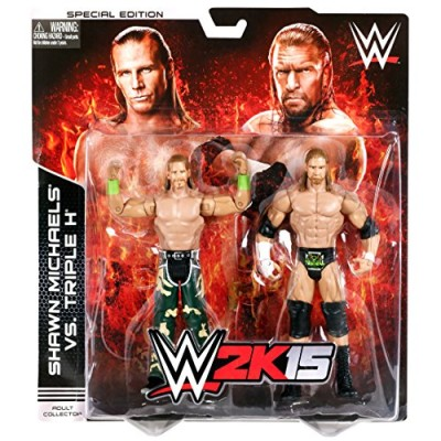 WWE 2K15 Shawn Michaels and Triple H Battle Pack Figure (2-Pack)